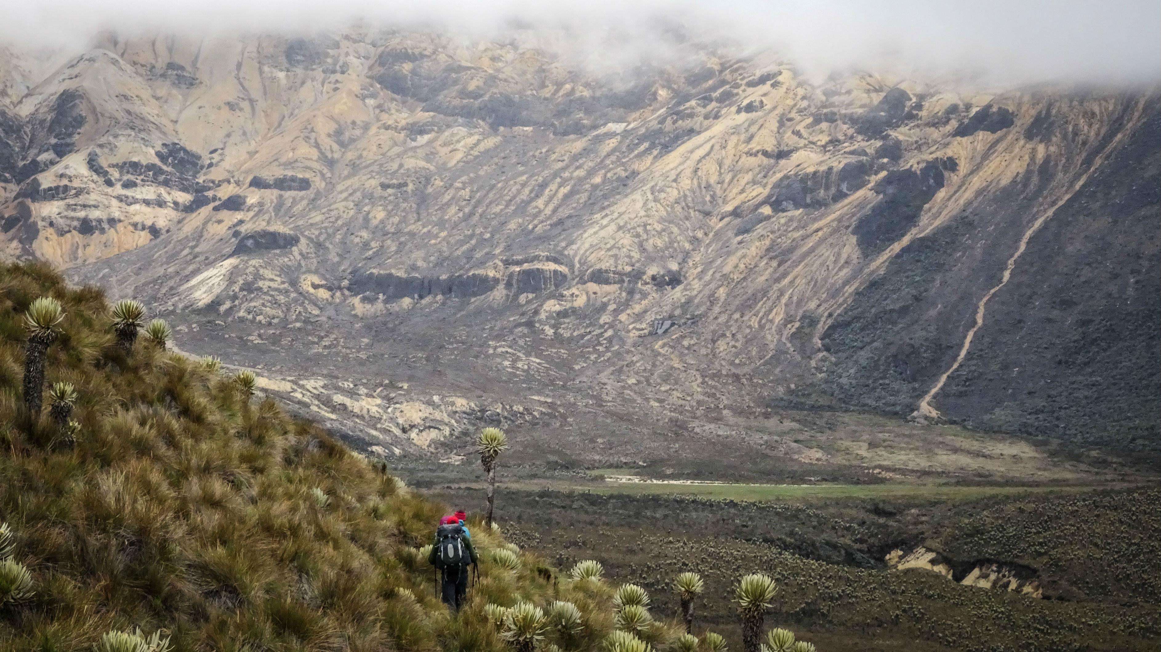 volcano summits